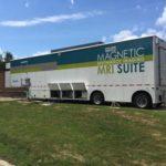 philips mobile CT scanner truck trailer
