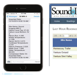 sound imaging magnet watch mobile application software